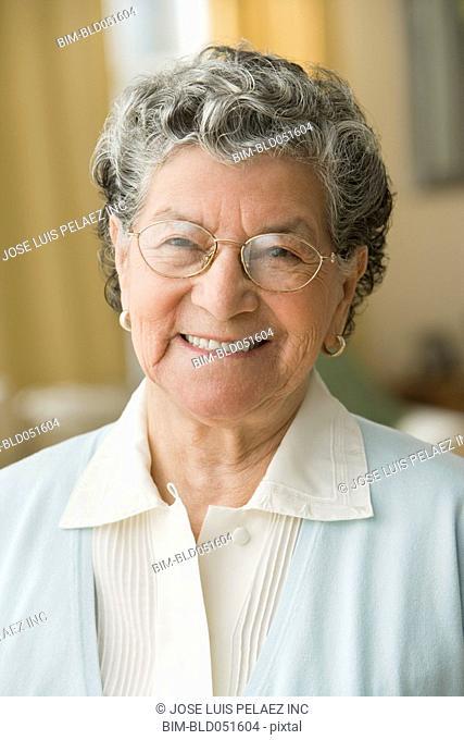 Portrait of senior Hispanic woman