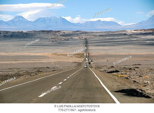 Road to Salar de Atacama