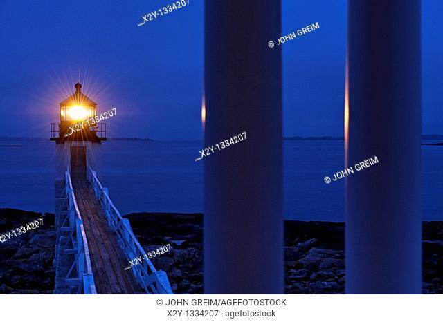 Marshall Point Light Station, Port Clyde, Maine, USA  Est  1832