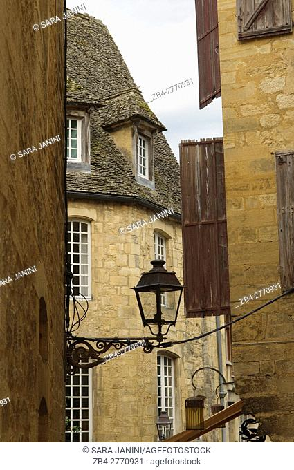 Old Town of Sarlat, Dordogne, Aquitaine, France