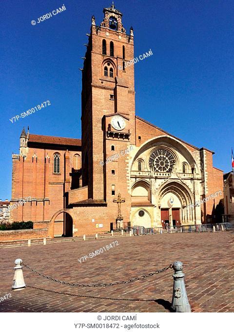 CatatŽdrale St-Etienne. Toulouse.Haute Garonne.France
