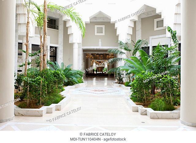 Tunisia - Jerba - Hall of the Radisson Blu hotel