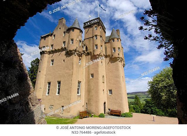 Craigievar Castle, Aberdeenshire, Scotland, UK
