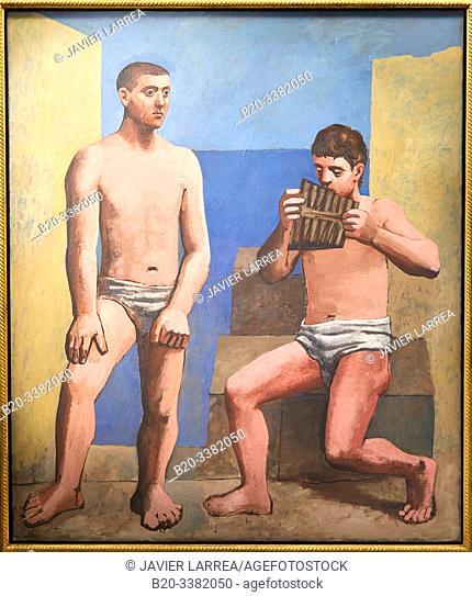 """""""La Flûte de Pan"""", 1923, Pablo Picasso, Picasso Museum, Paris, France, Europe"""