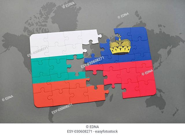 Liechtenstein World Map Stock Photos And Images Age Fotostock