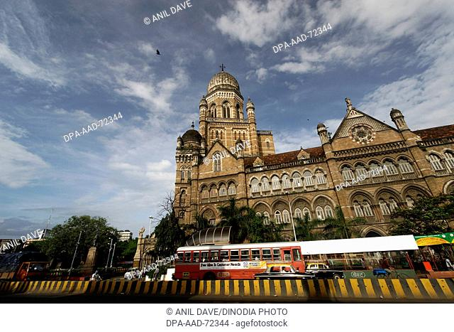 Mumbai Municipal Building ,  Dadabhoy Naoroji Road , Bombay Mumbai , Maharashtra , India