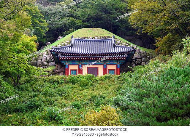 Guinsa temple in Sobaek mountains,South Korea