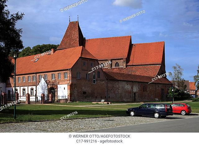Germany, Rehna, Radegast, North West Mecklenburg, Mecklenburg-Western Pomerania, monastery Rehna, Benedictine nun monastery, monastery buildings