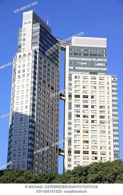 Skyscrapers in La Reserva, Buenos Aires, Argentina