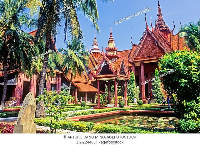 National Museum, 1920s. Phnom Penh, Cambodia