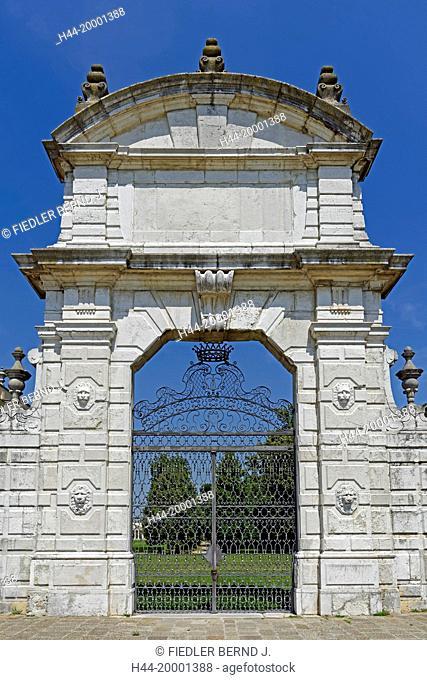 Museo Nazionale di villa Pisani, gate
