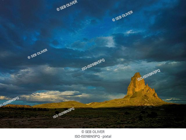 Rocky landscape, near Monument Valley, Utah, USA