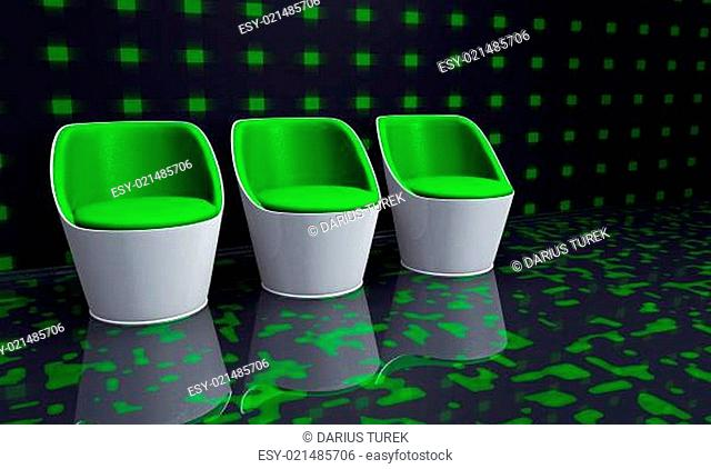 Green Clubchairs
