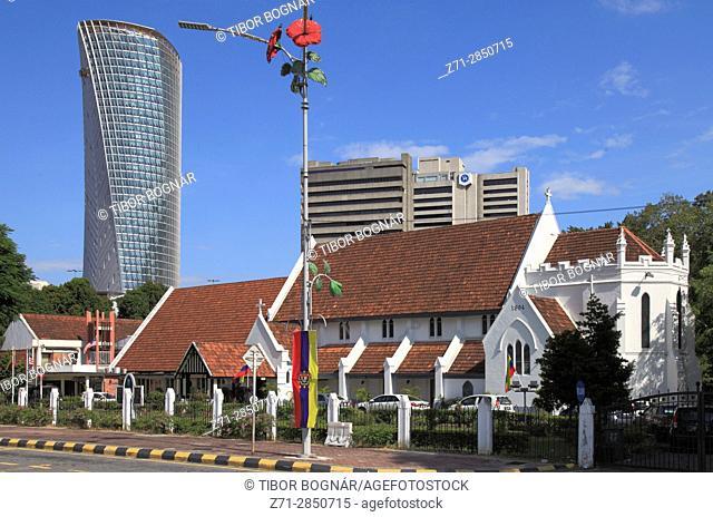 Malaysia, Kuala Lumpur, Merdeka Square, St. Mary's Cathedral,