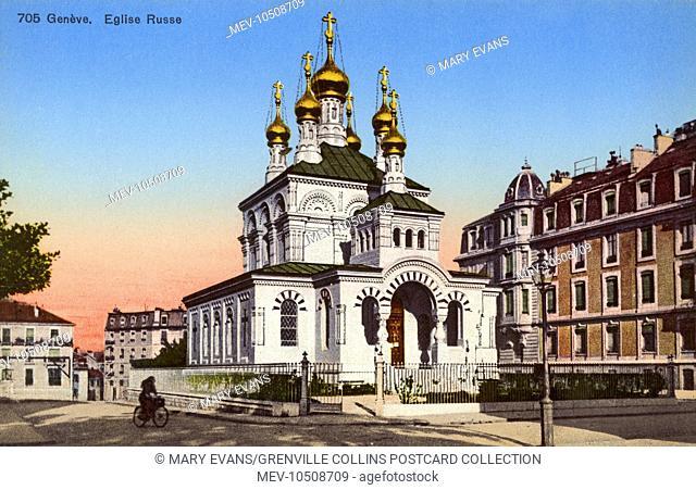 Othodox Russian Church - Geneva, Switzerland