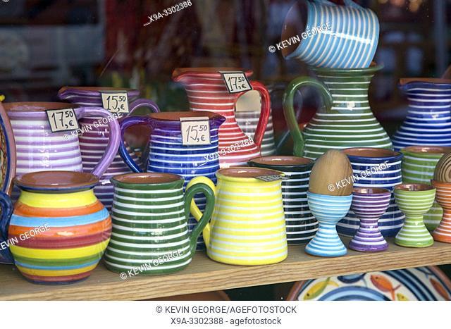 Pottery Jug Souvenirs, Loule; Algarve; Portugal