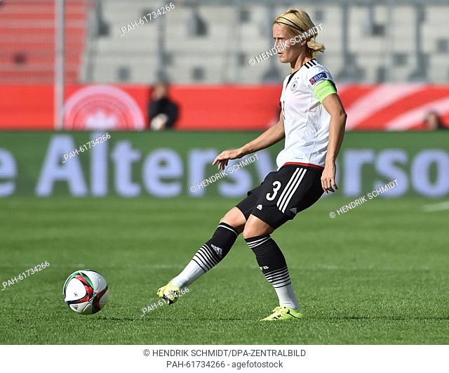 Women's Soccer European Championships Qualifications: Germany vs Hungary at the .Erdgas Sportpark in Halle (Saale), Germany, 18 Septemeber 2015