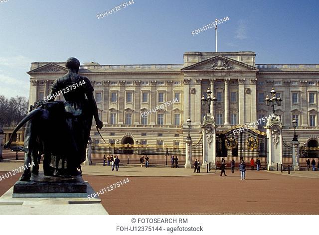 London, England, Great Britain, United Kingdom, Europe, Buckingham Palace