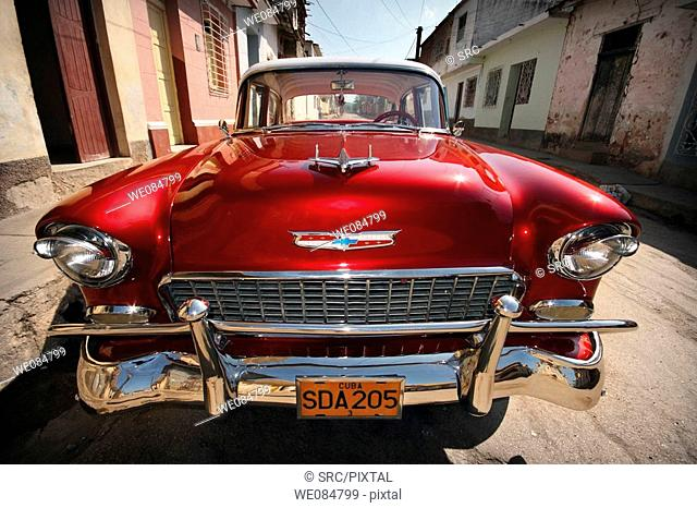 Old car, Trinidad, Sancti Spíritus, Cuba