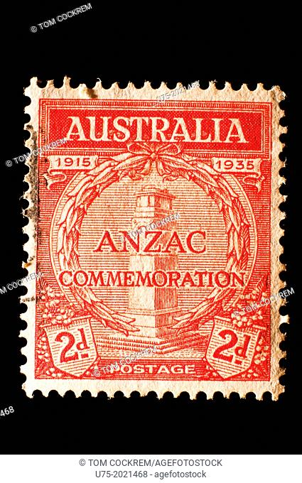 Australia Anzac commemoration postage stamp