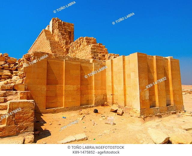 New archaeological discoveries, Saqqara necropolis, Egypt