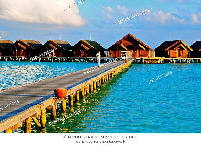 Indian Ocean, Maldives, South Ari Atoll, Dhidhoofinolhu, Diva Resort, Naiad