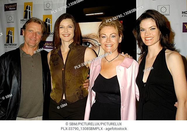 """""""""""""""Exposed"""""""" Cast - David Rasche, Brenda Strong, Misti L. Barnes & Missi Pyle at the Hollywood Film Festival - Closing Night """"""""Shattered Glass"""""""" Los Angeles..."""