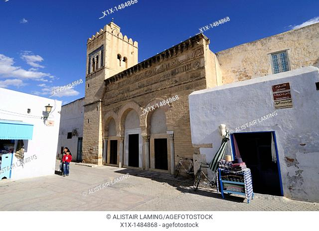 The Mosque of Three Doors, Kairouan, Tunisia