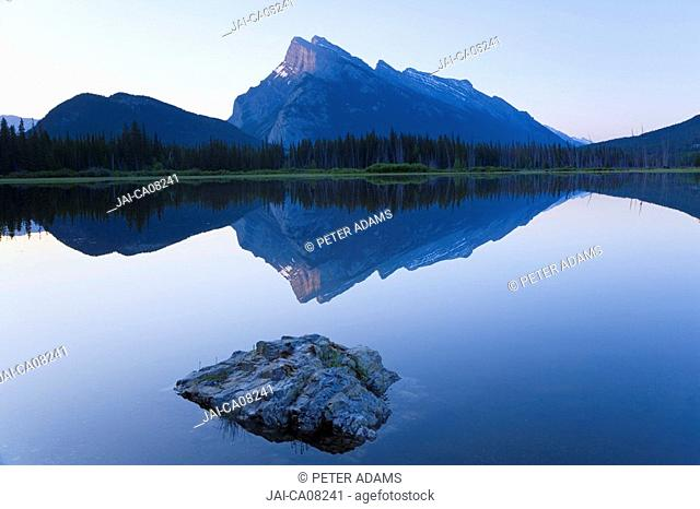 Vermillion Lake, Banff National Park, Alberta, Canada