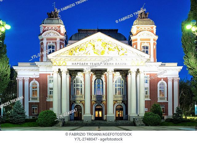 Ivan Vazov National Theatre, Sofia, Bulgaria