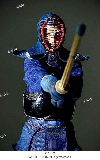Japanese kendo athlete