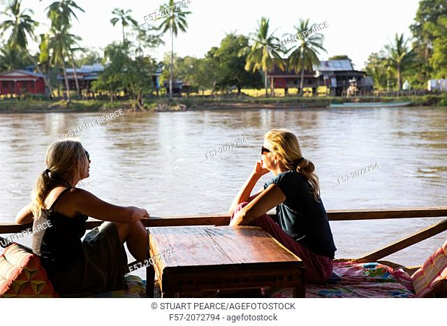 Don Khon island in the Mekong River, 4000 Islands in Southern Laos