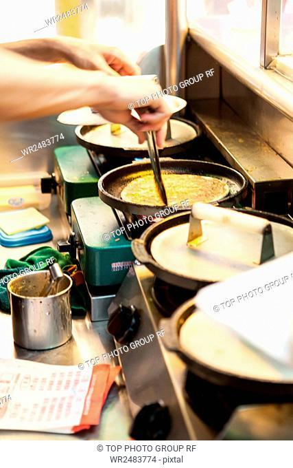 Yi Zhong Night Market burn large eggs Pizza quiche store