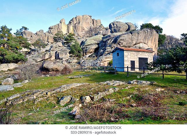 The Respernadero in the Sierra de Malagon. Peguerinos. Avila. Castilla Leon. Spain. Europe