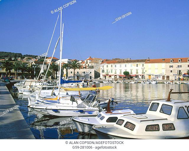 Supetar. Brac Island. Croatia
