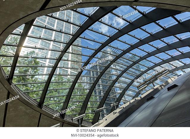 Canary Wharf Underground Station, London, United Kingdom