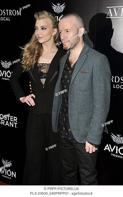 "Natalie Dormer and Anthony Byrne at the """"In Darkness"""" Los Angeles Premiere held at the ArcLight Hollywood in Los Angeles, CA on Wednesday, May 23, 2018"