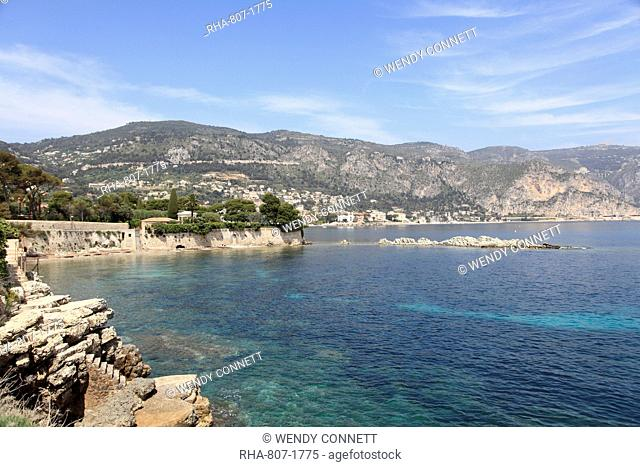 Cap Ferrat Peninsula, Alpes Maritimes, Cote d'Azur, French Riviera, Provence, France, Mediterranean, Europe