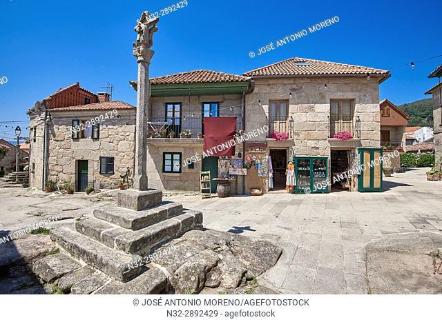 Combarro, Poio, Ria de Pontevedra, Pontevedra province, Galicia, Spain