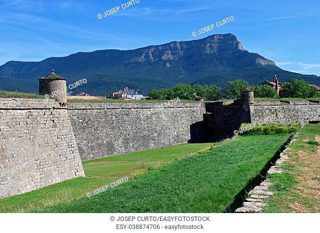 Citadel in Jaca, Huesca province, Spain