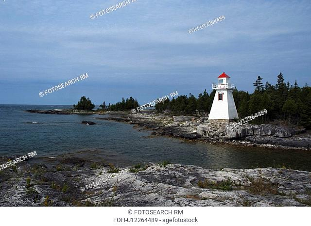 lighthouse south baymouth manitoulin island