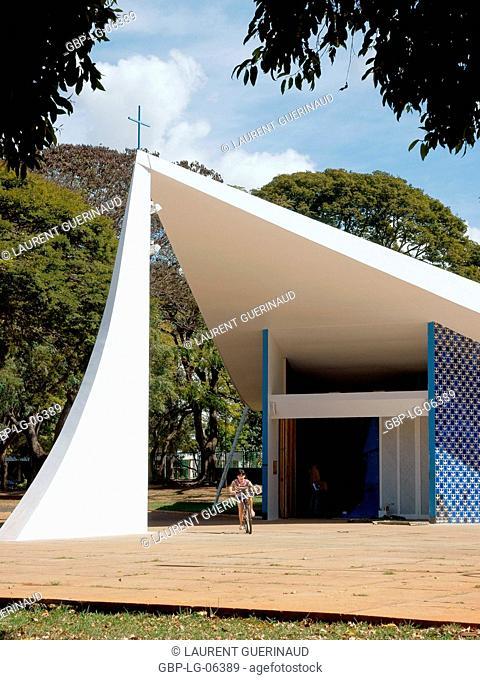 Our chapel Mrs. Fátima, city, Distrito Federal, Brasília, Braz