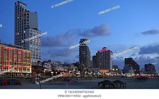 City, Tel Aviv Jaffa, Israel, Middle East