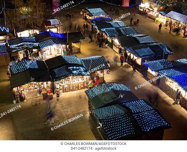 europe, UK, England, London, Christmas market