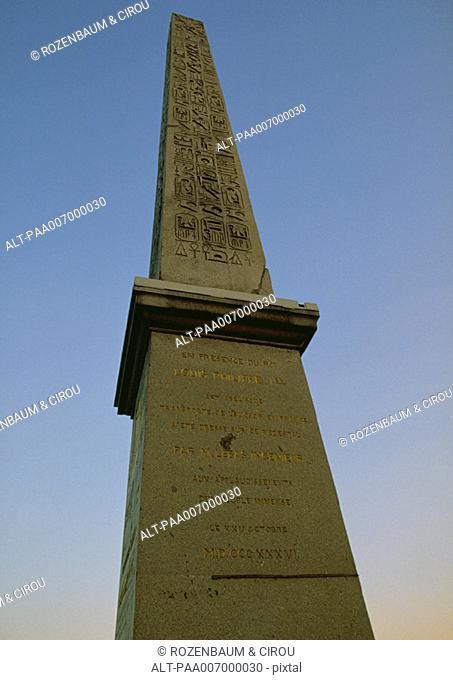 France, Paris, Obelisk of Luxor