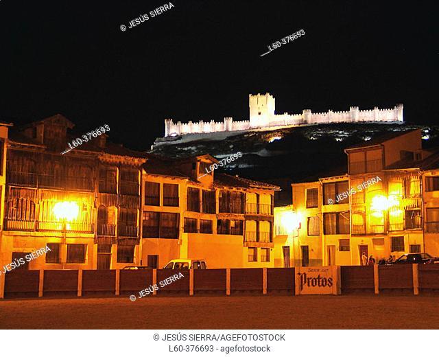 Coso square. Peñafiel. Valladolid province. Castilla y León. Spain