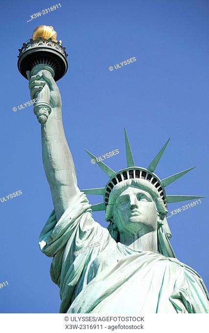 Statue of Liberty, Liberty island, New York, Usa, America