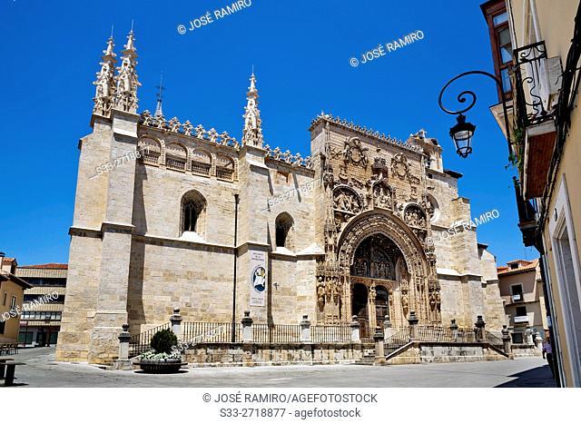 Santa María church in Aranda de Duero. Burgos. Castilla León. Spain