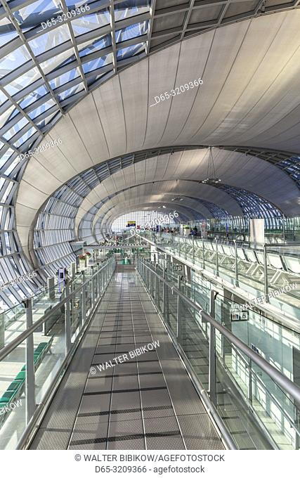 Thailand, Bangkok, Suvarnabhumi International Airport, BKK, interior