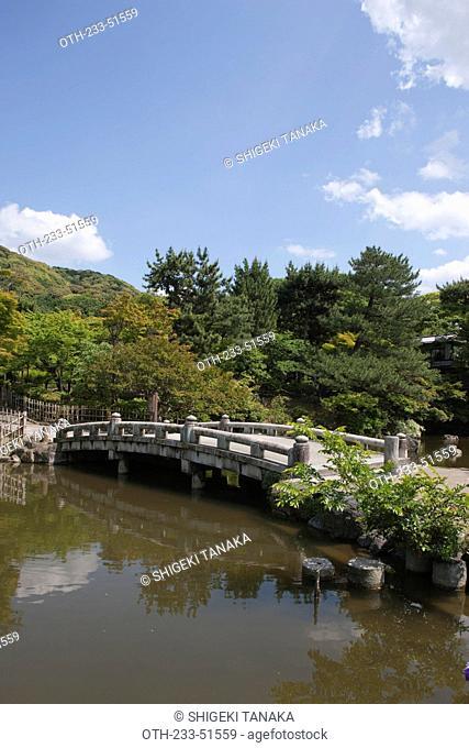 Maruyama park, Higashiyama, Kyoto, Japan